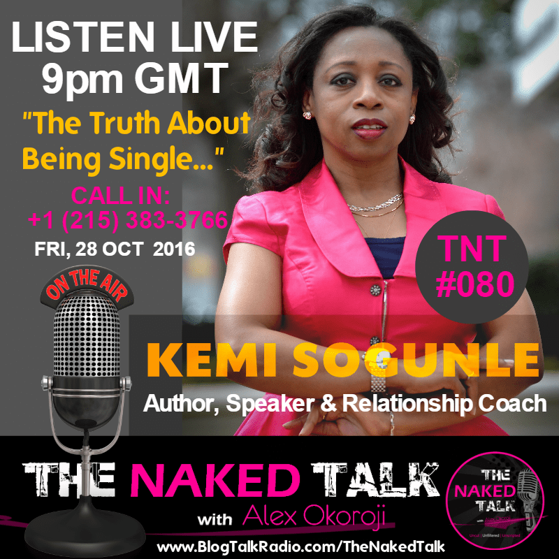Kemi Sogunle is Guest on THE NAKED TALK w/ Alex Okoroji