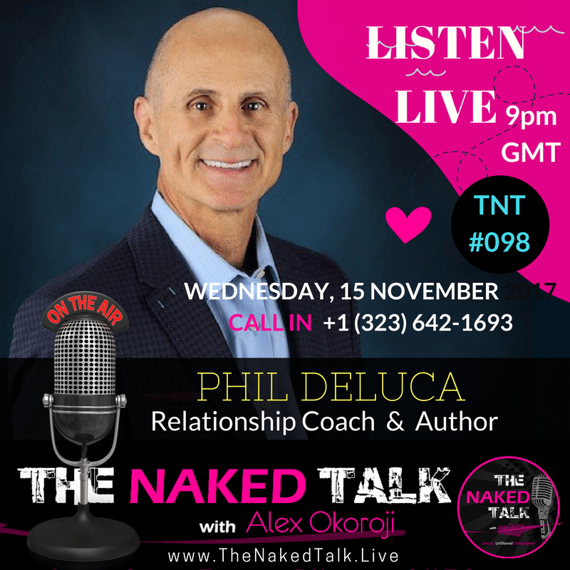 Phil Deluca is Guest on THE NAKED TALK w/ Alex Okoroji