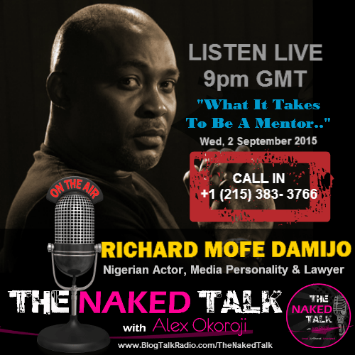 Richard Mofe Damijo (RMD) is Guest on THE NAKED TALK w/ Alex Okoroji