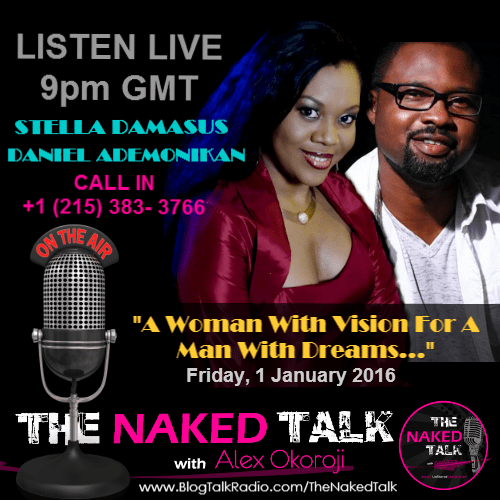 Stella Damasus & Daniel Ademinokan are Guests on THE NAKED TALK w/ Alex Okoroji