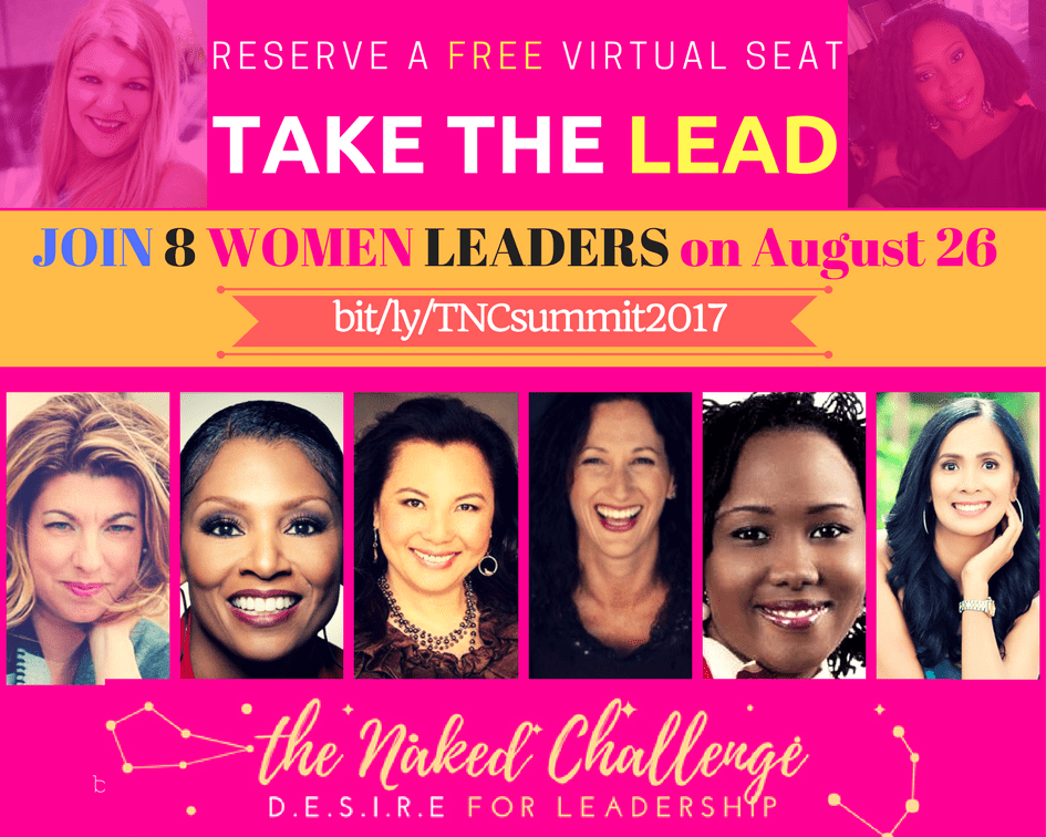 The NAKED CHALLENGE 2017: Desire Fir Leadership with Maria Appelqvist & Alex Okoroji