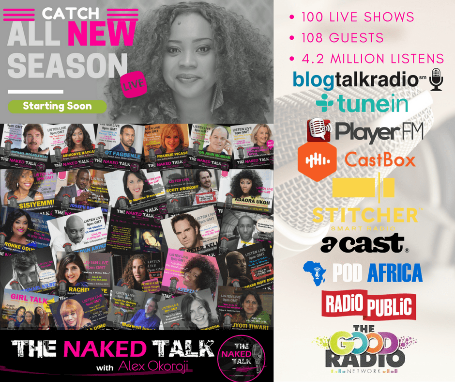 All New Season of THE NAKED TALK w/ Alex Okoroji