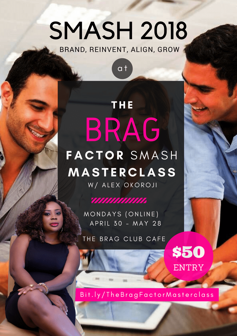 The BRAG Factor Masterclass with Alex Okoroji