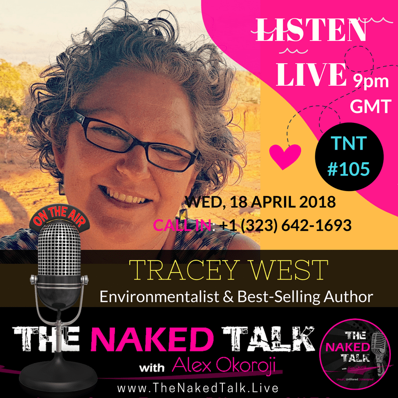 Tracey West is Guest on THE NAKED TALK w/ Alex Okoroji