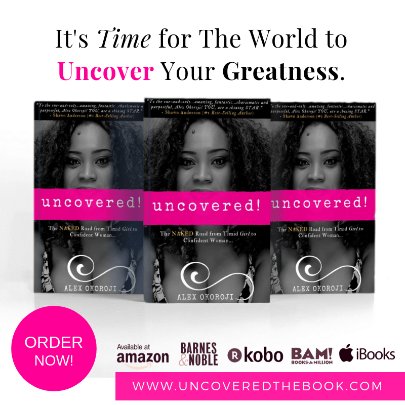 Uncovered book by Alex Okoroji