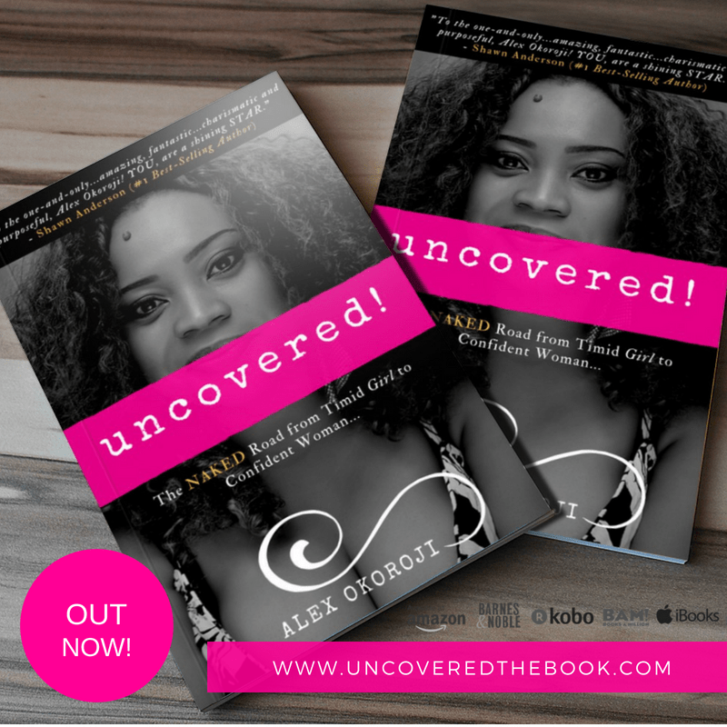 Brand new book - Uncovered by Actress, Alex Okoroji