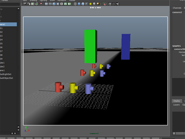 MAYA Display Resolution