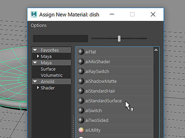 Maya2018 Assign New Material