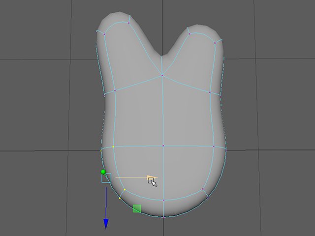Maya2018 Move Vertex