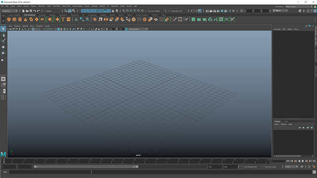 Maya Interface Color
