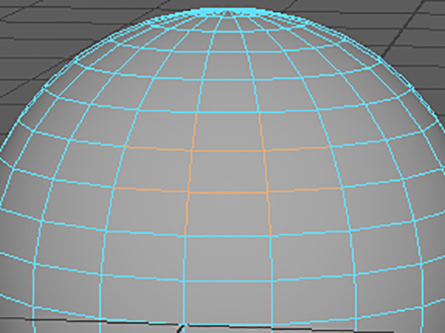 MAYA Select Edges