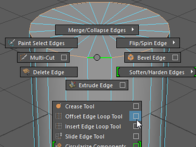 MAYA Offset Edge Loop Tool