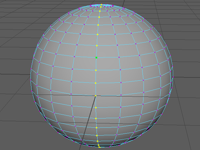 MAYA Select Vertex Loop
