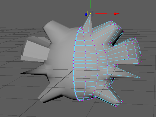MAYA Move Vertex