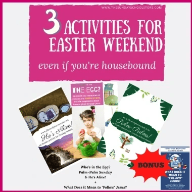 3 Activities or Easter Weekend:  FREE