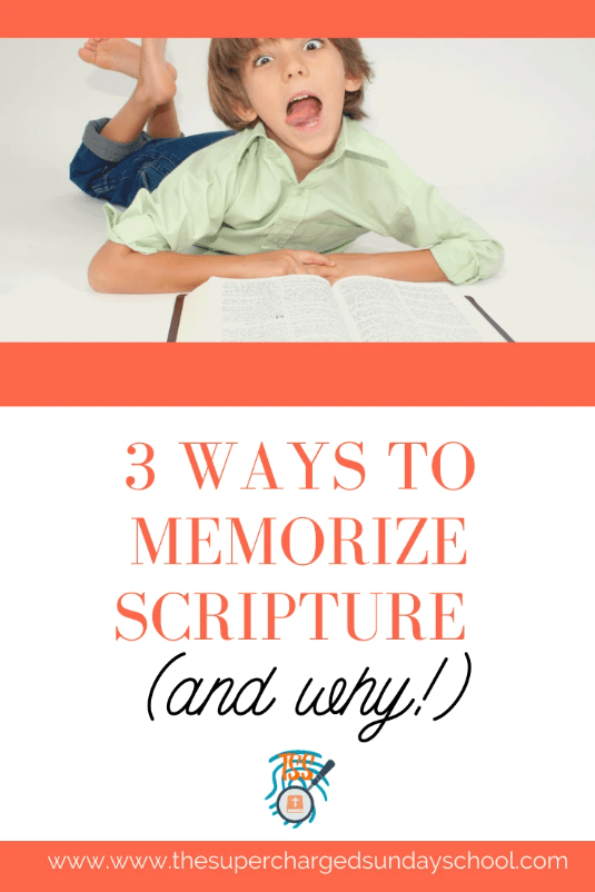 3 Ways to Memorize Scripture and WHY