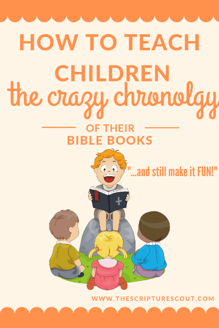 How to Teach Children  The Crazy Chronology  of Bible Books (and still make it fun!)