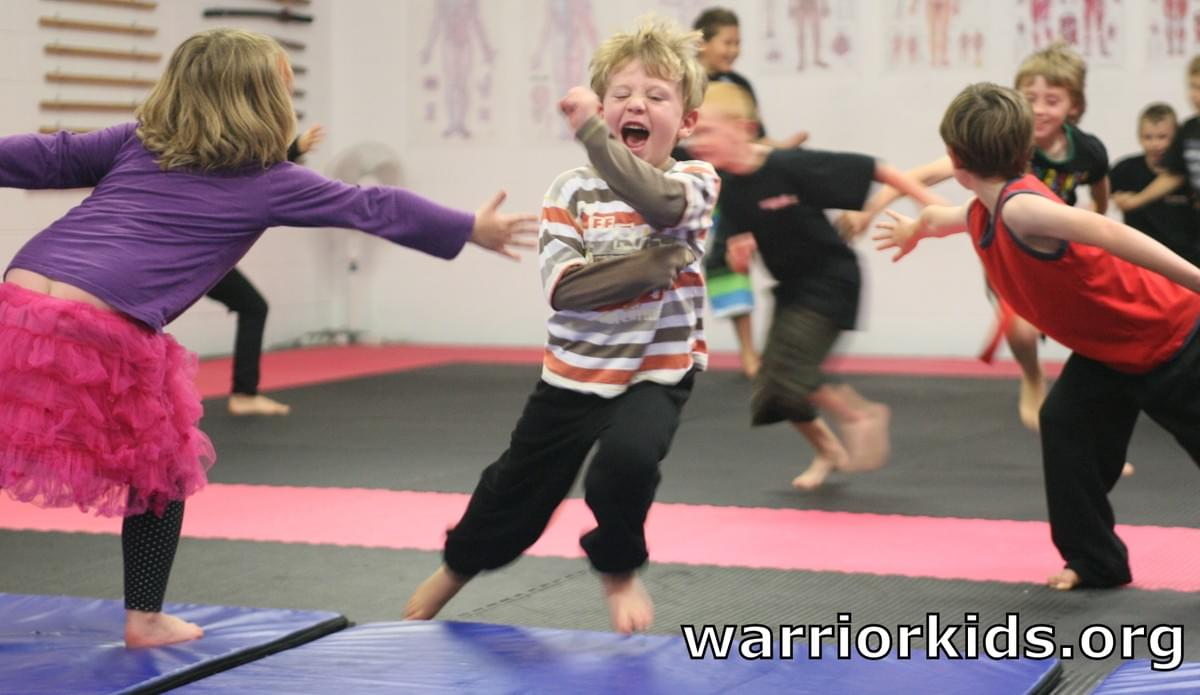 Warrior Kids Tim Tipene