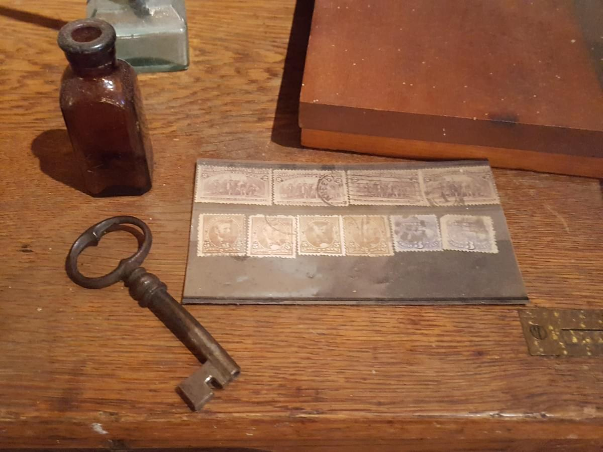 Postage Stamps, ca. 1890 - Job Carr Cabin Museum