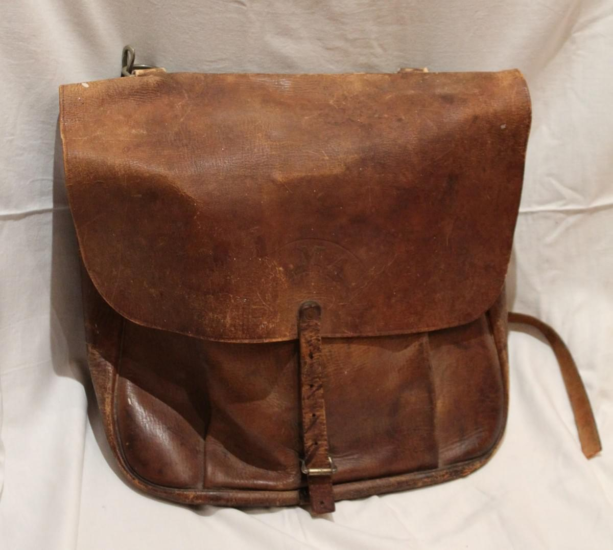 Early Tacoma U.S. Mail Bag - Job Carr Cabin Museum