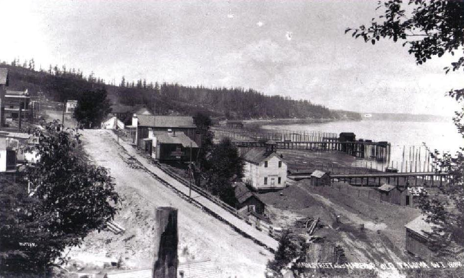 Old Town Tacoma, 1888