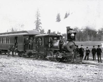 First NPRR Train to Tacoma