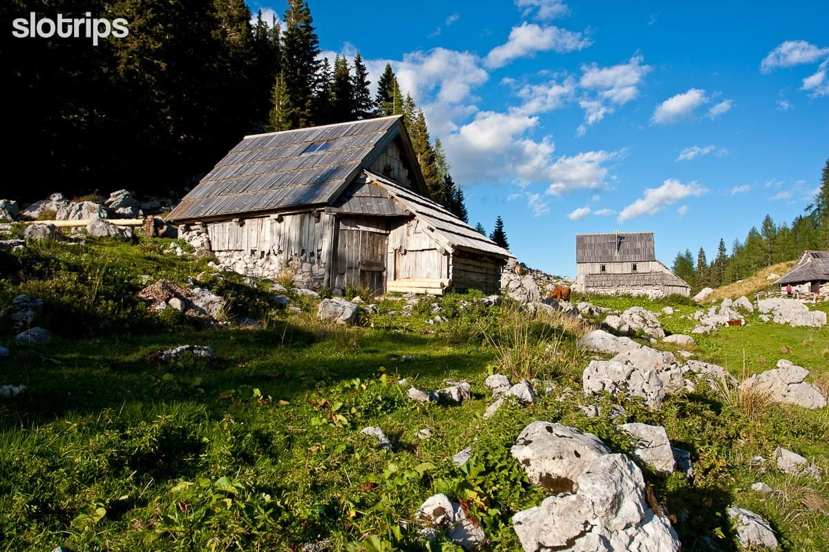 Guided hut-to-hut hiking tour Julian Alps, Slovenia