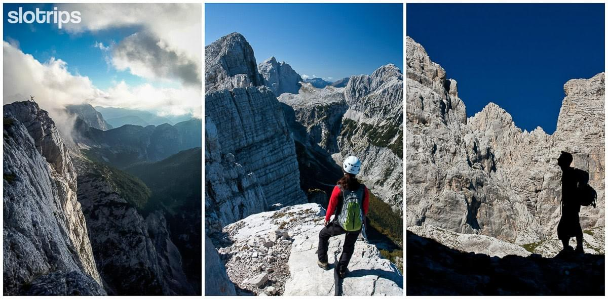 Best via-ferrata crossing of Julian Alps, Slovenia