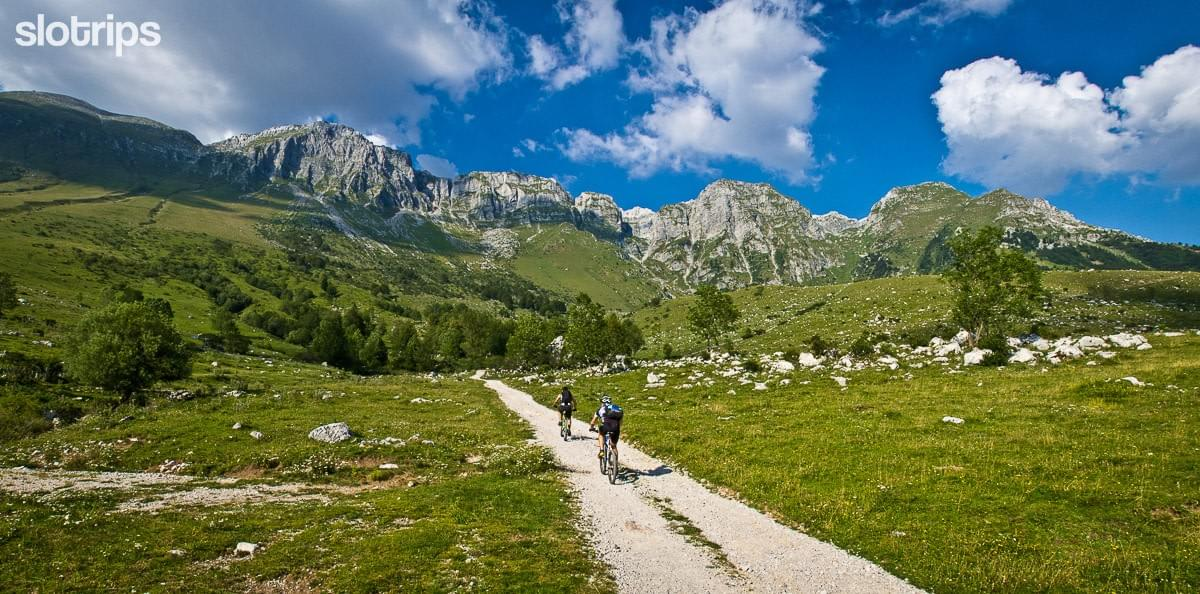 Julian Alps mountain biking tour, Slovenia