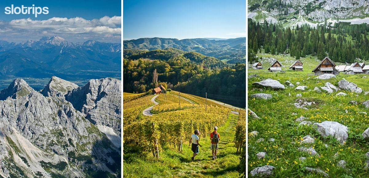 Self guided hotel based hiking tour, Slovenia