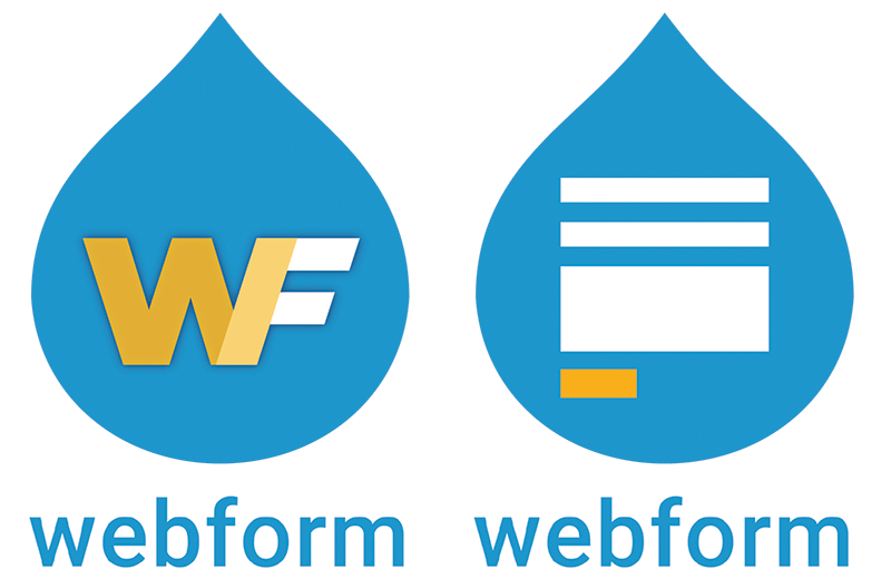 The two Webform logo finalists