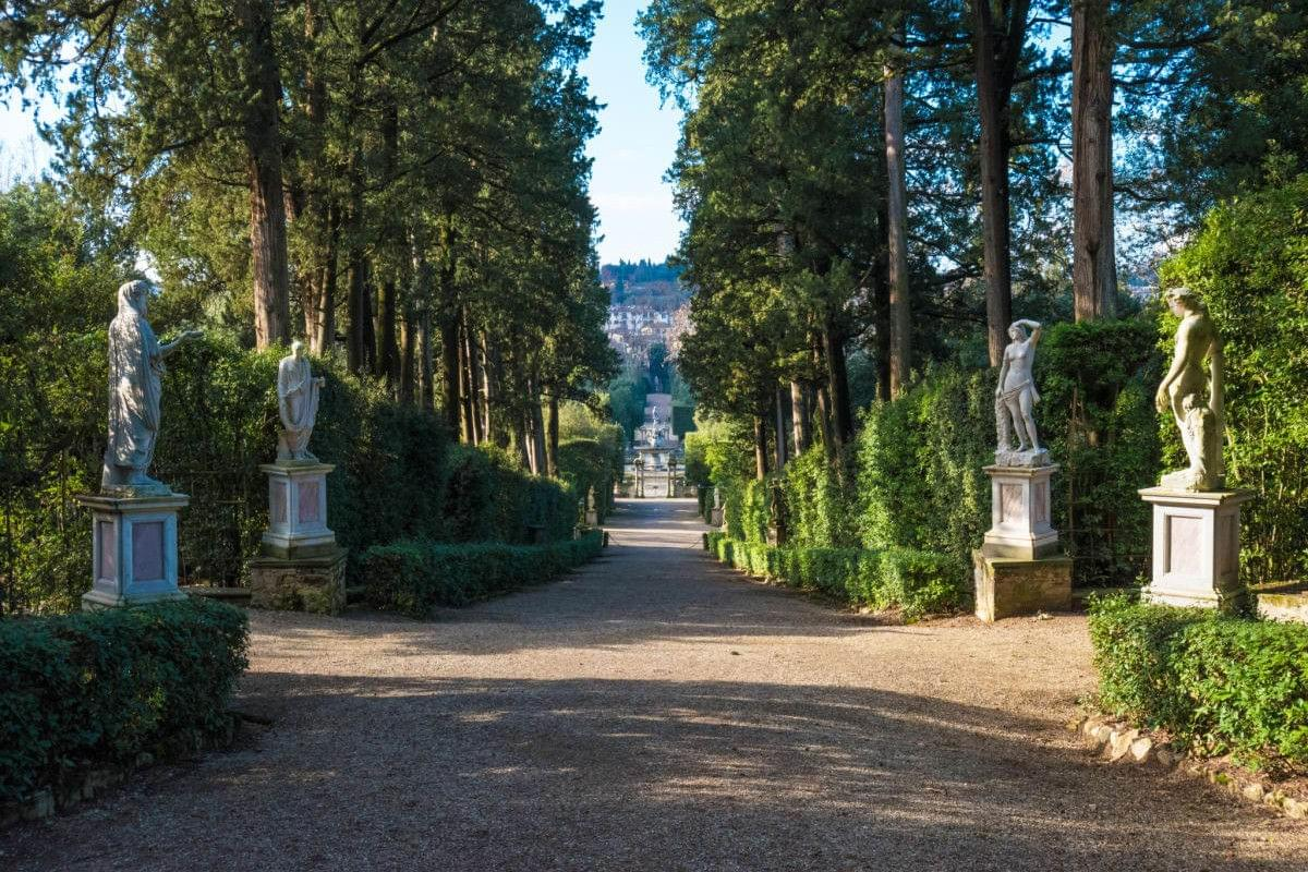 Grand Tour Florence - Pitti Palace and boboli garden tours