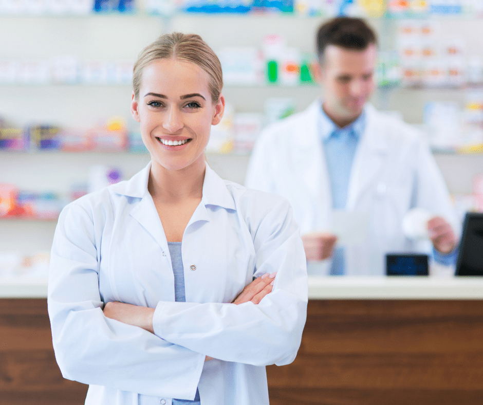 Male and Femal Pharmacists at InHealth Specialty Pharmacy Fargo, ND
