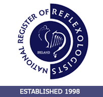 Angela Devereaux, Lodge Road Therapy  is a Registered member with National Register of Reflexologists Ireland MNRRI