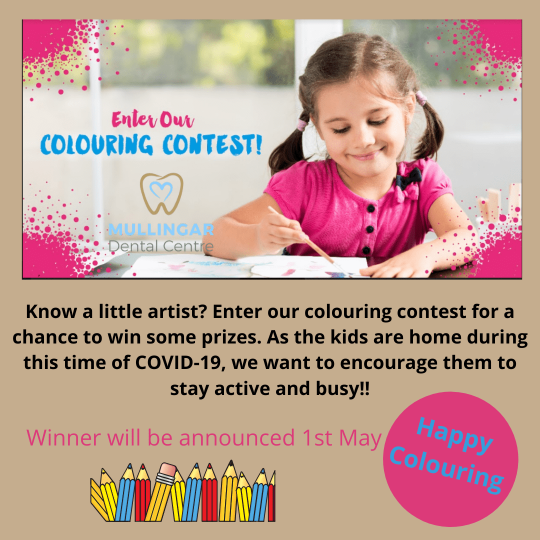Mullingar Dental Centre - Colouring Contest