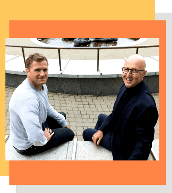 That Great Business Show - Conall ÓMóráin and Jamie Heaslip