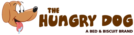 The Hungry Dog - Premium Dog Food, Treats and Toys. A Bed & Biscuit Brand