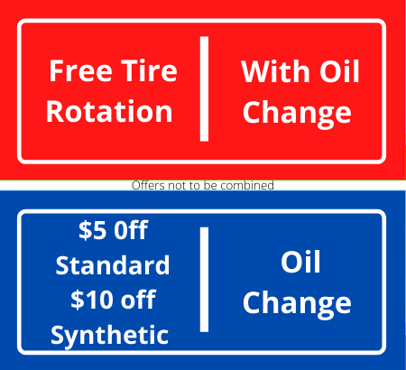 Oil changes in Rocklin CA