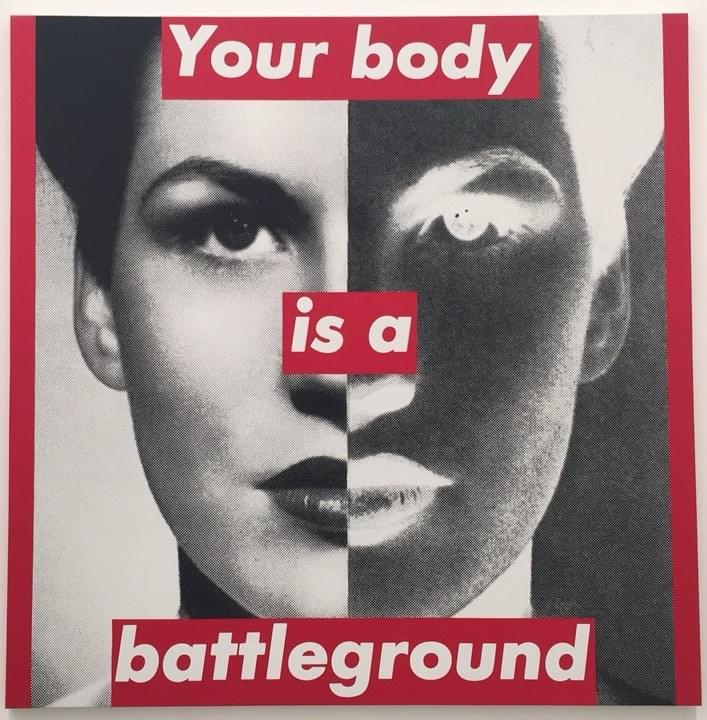 Battleground - Barbara Kruger
