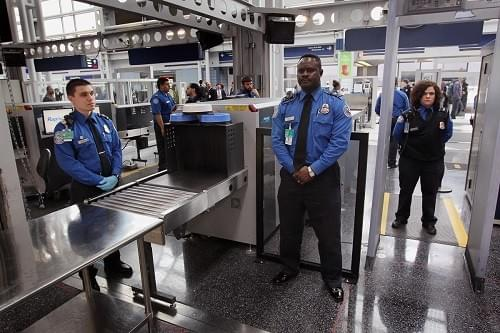 TSA performs passenger security screening at most U.S. airports.