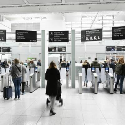 In Europe, most airport insiders go through the same security screening process as travelers.