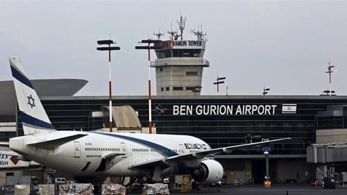 Israel sees far fewer air travelers annually than does the United States.