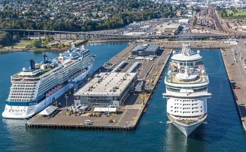 TSA closely regulates security  programs of cruise ships entering and leaving US ports.
