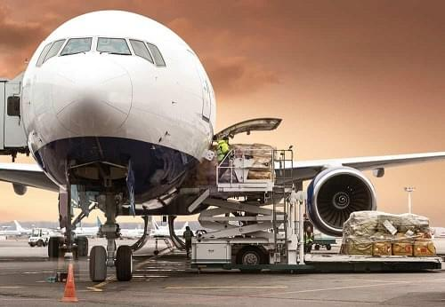 100 percent of all cargo shipped via air is screened before it's loaded onto airliners.