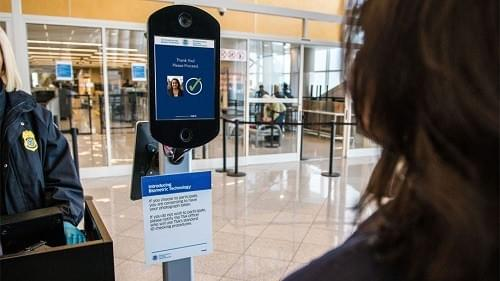 The Customs station at Detroit's international airport has begun using facial recognition technology for arriving passengers.