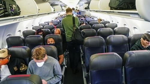 Several airlines have begun lifting restrictions on the number of passengers in their cabins.