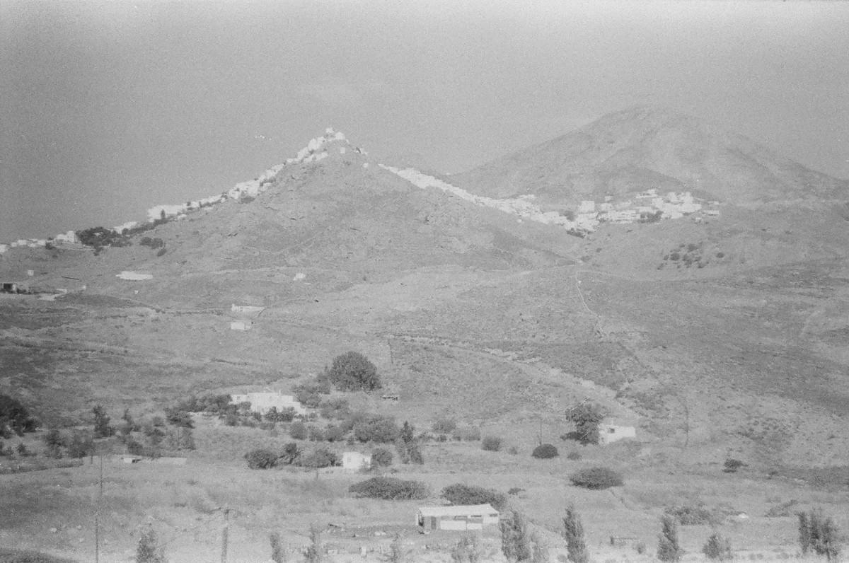 Serifos Island, view of Chora
