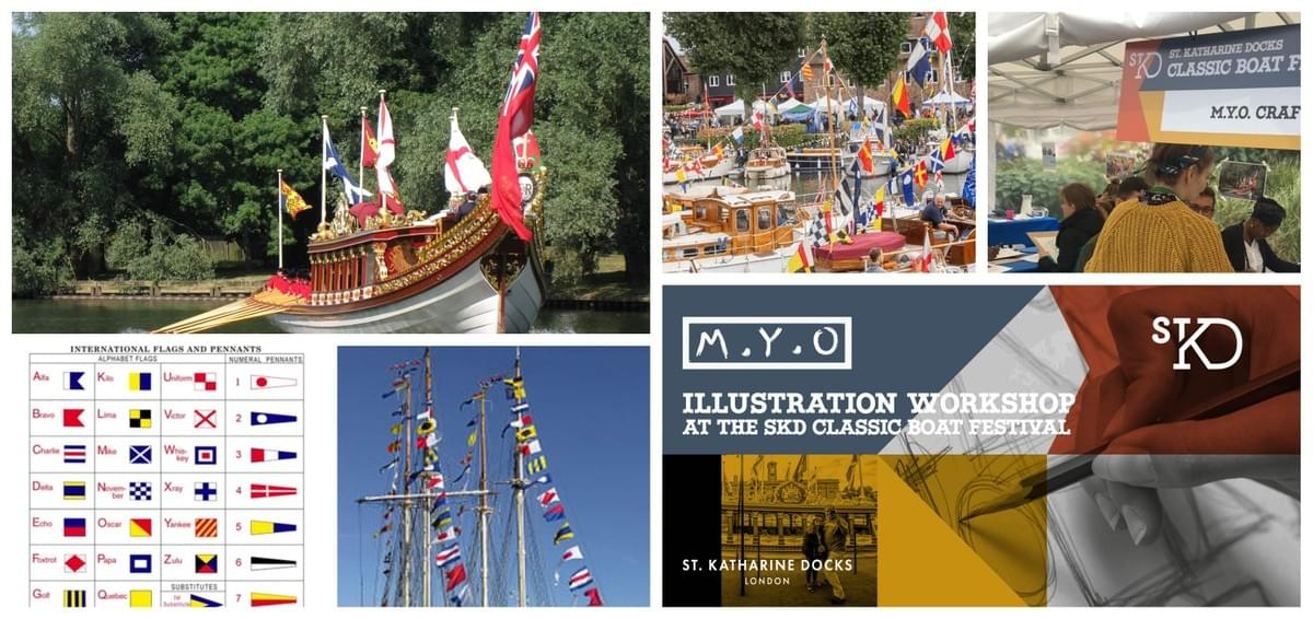 M.Y.O hosting creative sessions at the Classic Boat Festival 2019