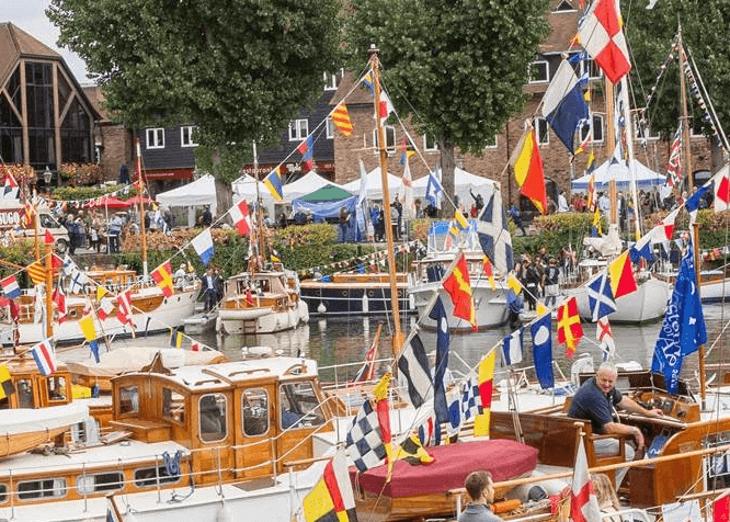 Creative classes at St. Katharine Docks Classic Boat Festival 2019