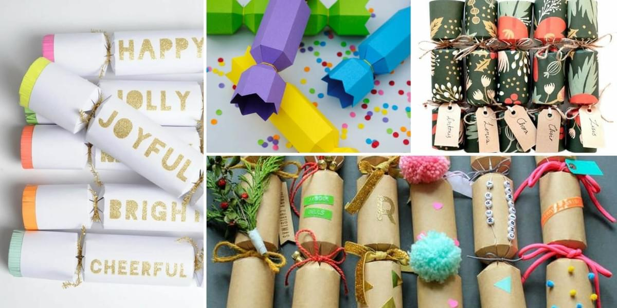 Make Christmas Crackers at M.Y.O